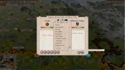 Aggressors screenshots - 3D Turn Based Strategy - New alliance negotiation