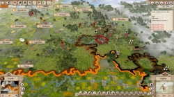 Aggressors screenshots - 3D Turn Based Strategy - Huns are attacking