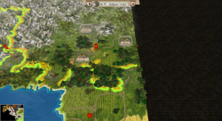 Aggressors screenshots - 3D Turn Based Strategy - Ptolemaic empire is attacking