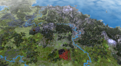 Aggressors screenshots - 3D Turn Based Strategy - Map generator result 2